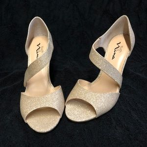 Champagne Gold Pump ~ David's Bridal
